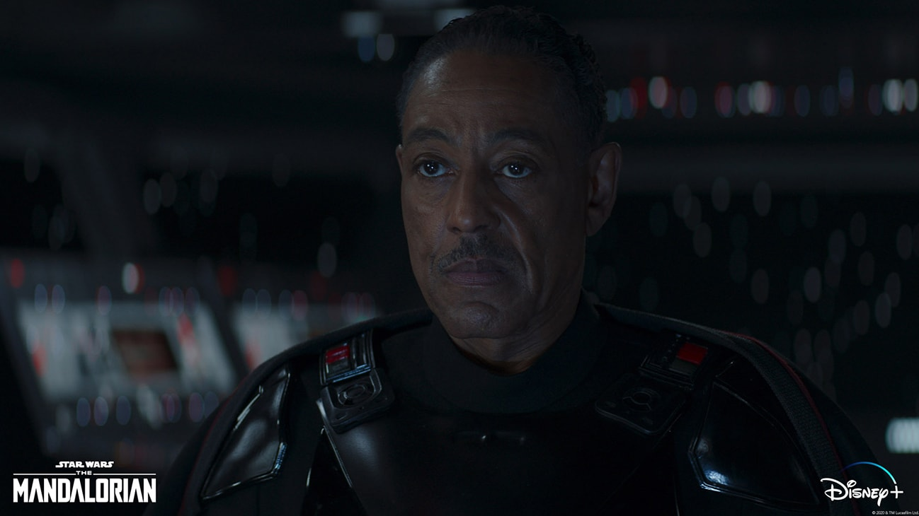 Giancarlo Esposito is Moff Gideon in Lucasfilm's THE MANDALORIAN, season two, exclusively on Disney+. © 2020 Lucasfilm Ltd. & ™. All Rights Reserved.