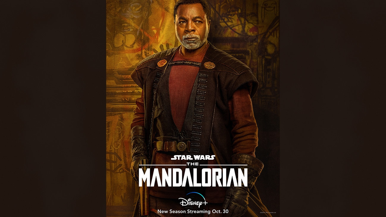 Greef Karga | Check out the new character art for #TheMandalorian and start streaming the new season Oct. 30 on #DisneyPlus.