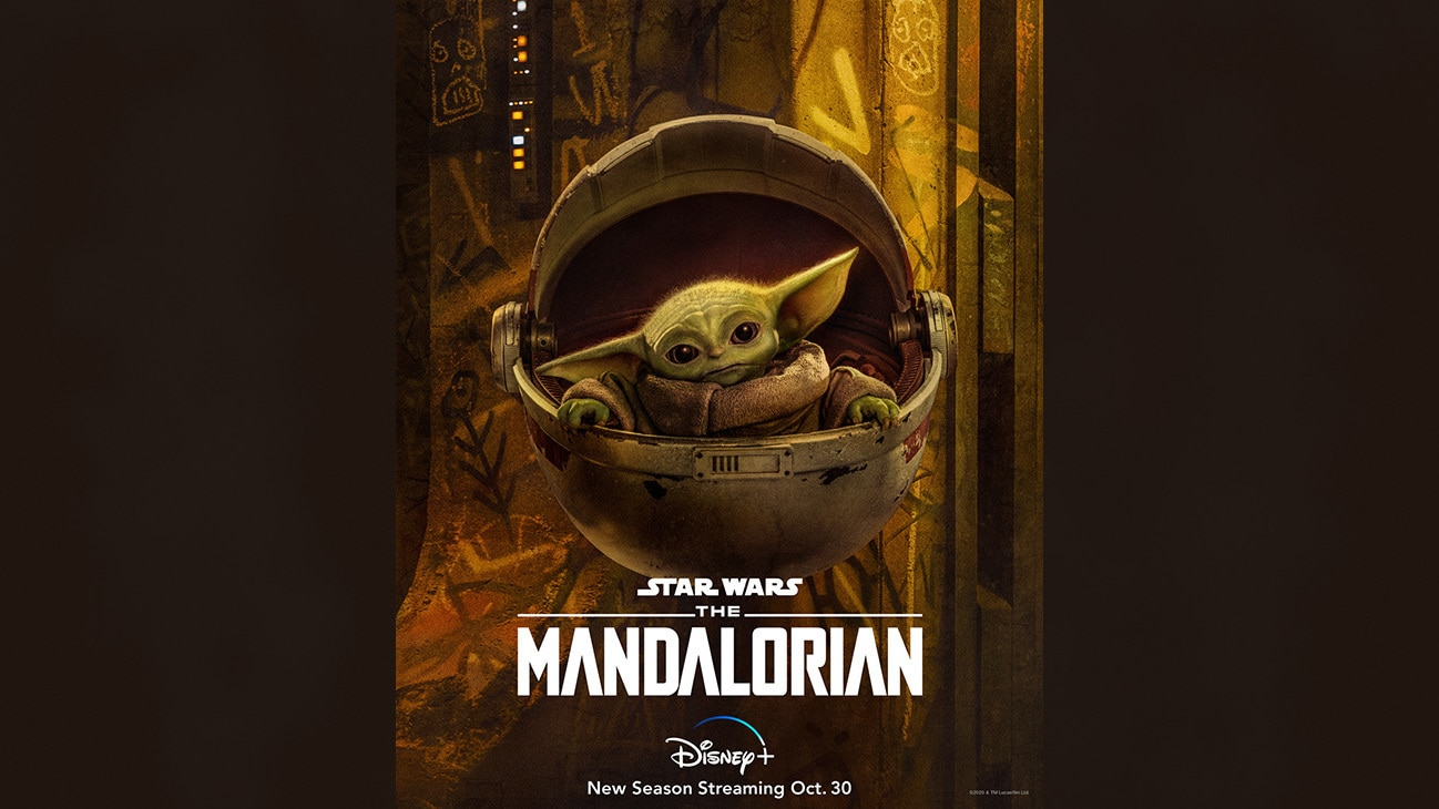 The Child | Check out the new character art for #TheMandalorian and start streaming the new season Oct. 30 on #DisneyPlus.