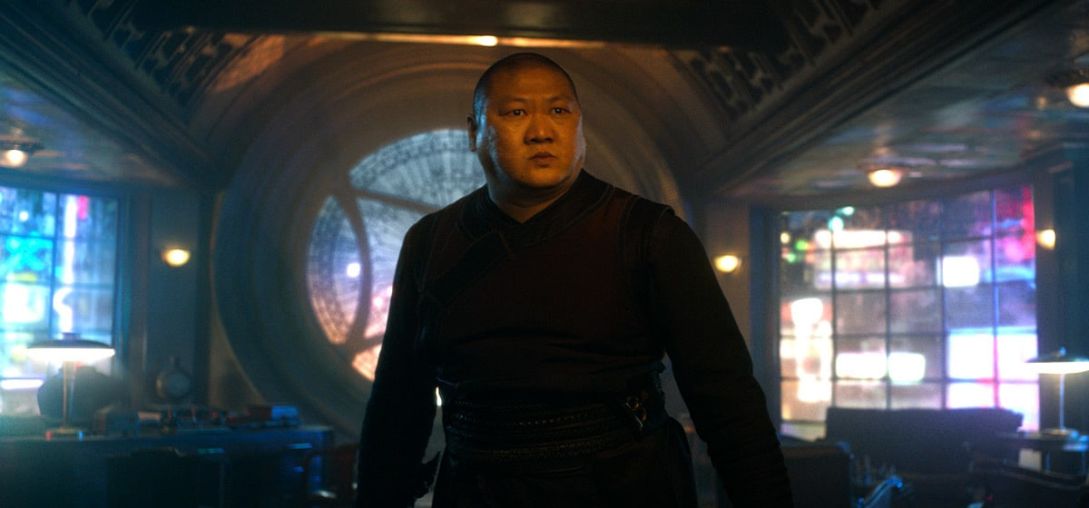 """Actor Benedict Wong (as Wong) in the Marvel Studios movie """"Doctor Strange"""""""