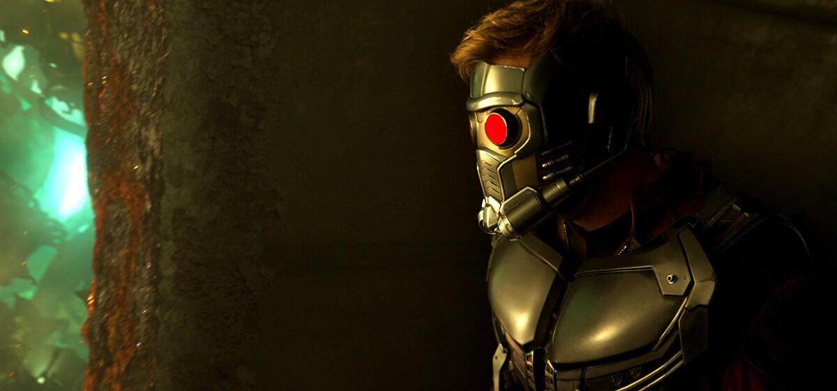 "Chris Pratt (Peter Quill/Star-Lord) in ""Guardians of the Galaxy Vol. 2"""