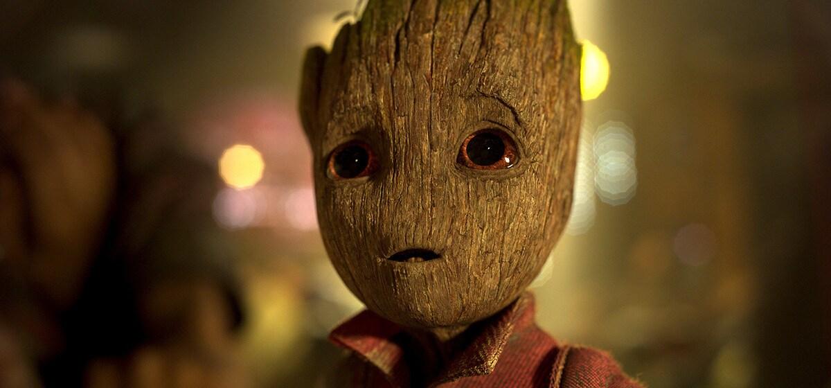 """Vin Diesel (Baby Groot) in """"Guardians of the Galaxy Vol. 2"""""""