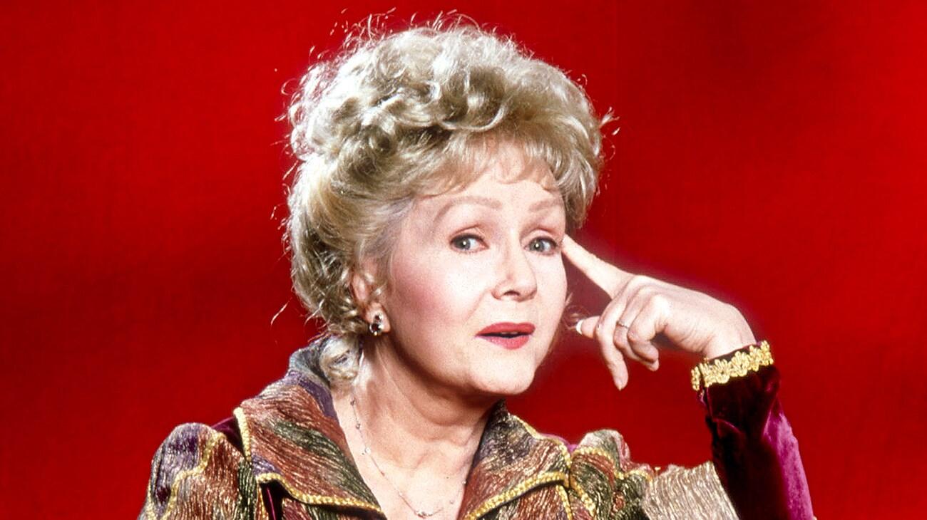 "Debbie Reynolds as Aggie Cromwell in ""Halloweentown"""