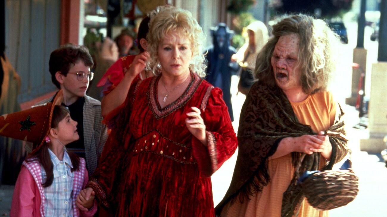 "Debbie Reynolds from the movie ""Halloweentown"""