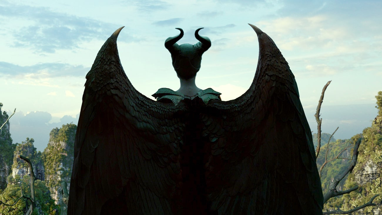 Angelina Jolie is Maleficent in Disney's Maleficant: Mistress of Evil