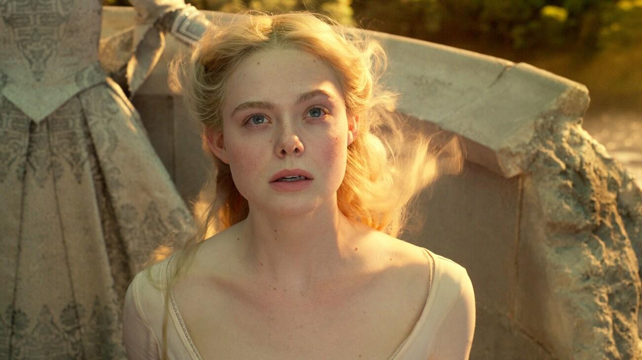 Elle Fanning is Aurora in Disney's Maleficant: Mistress of Evil