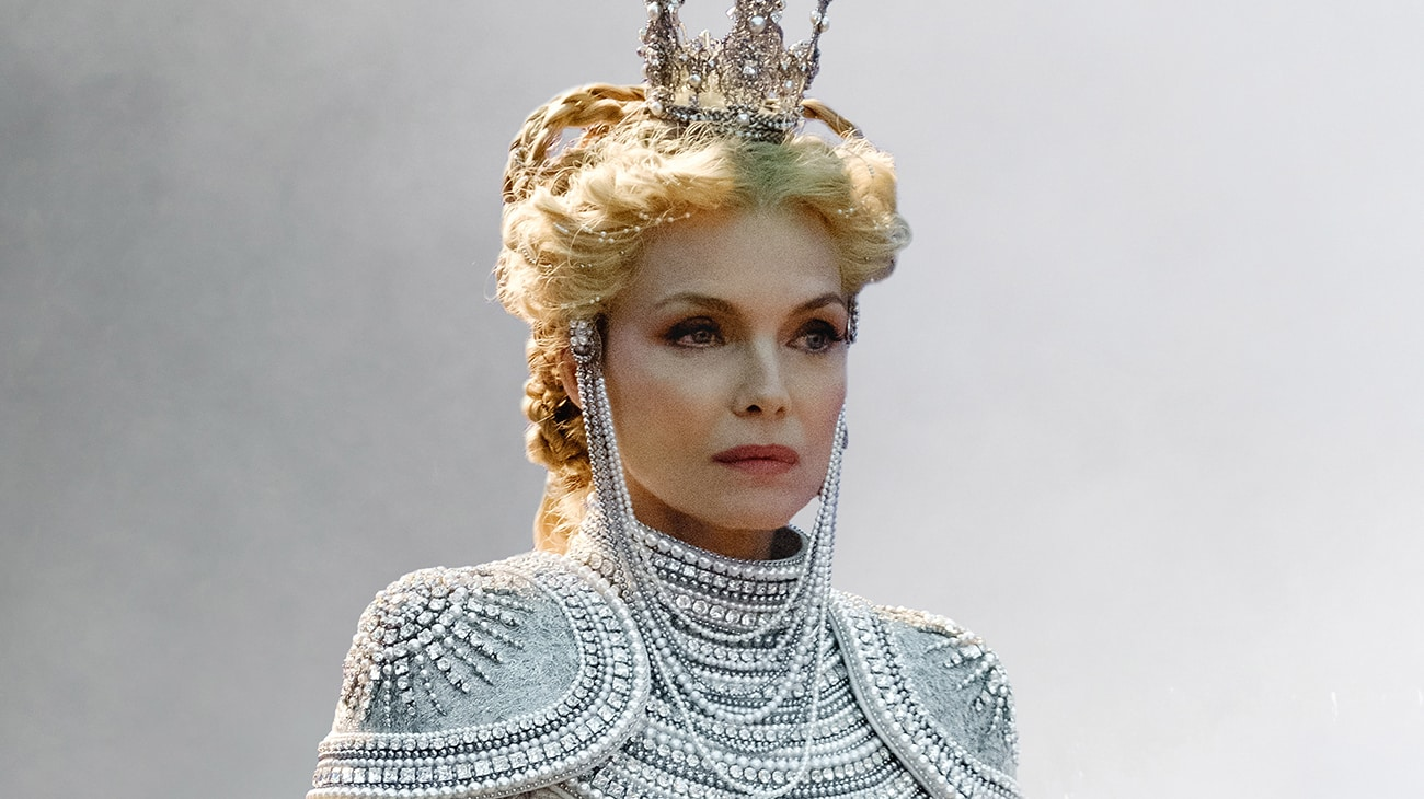 Michelle Pfeiffer is Queen Ingrith in Disney's Maleficant: Mistress of Evil
