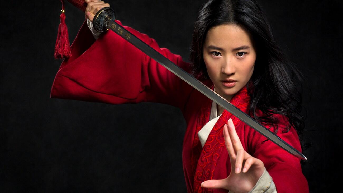 """Yifei Liu as """"Mulan"""""""