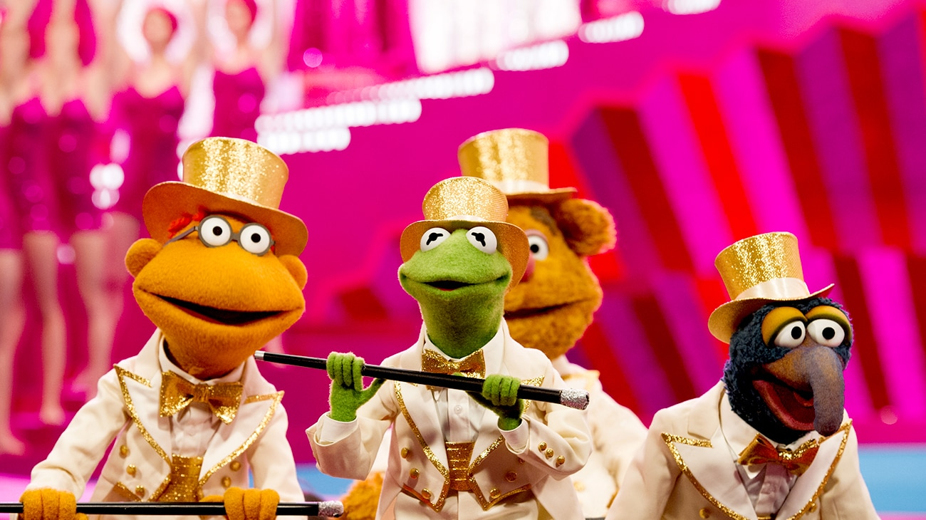 """Characters from the movie """"Muppets Most Wanted"""""""