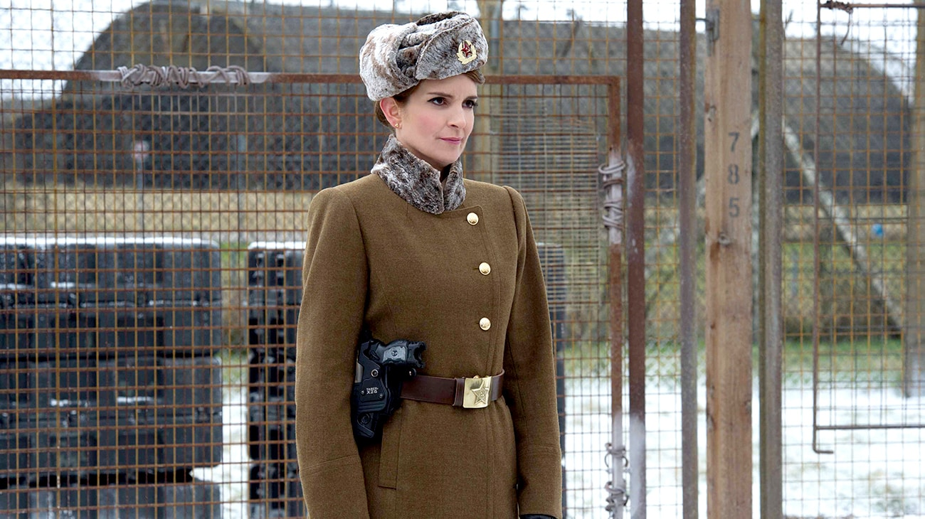 """Tina Fey in """"Muppets Most Wanted"""""""