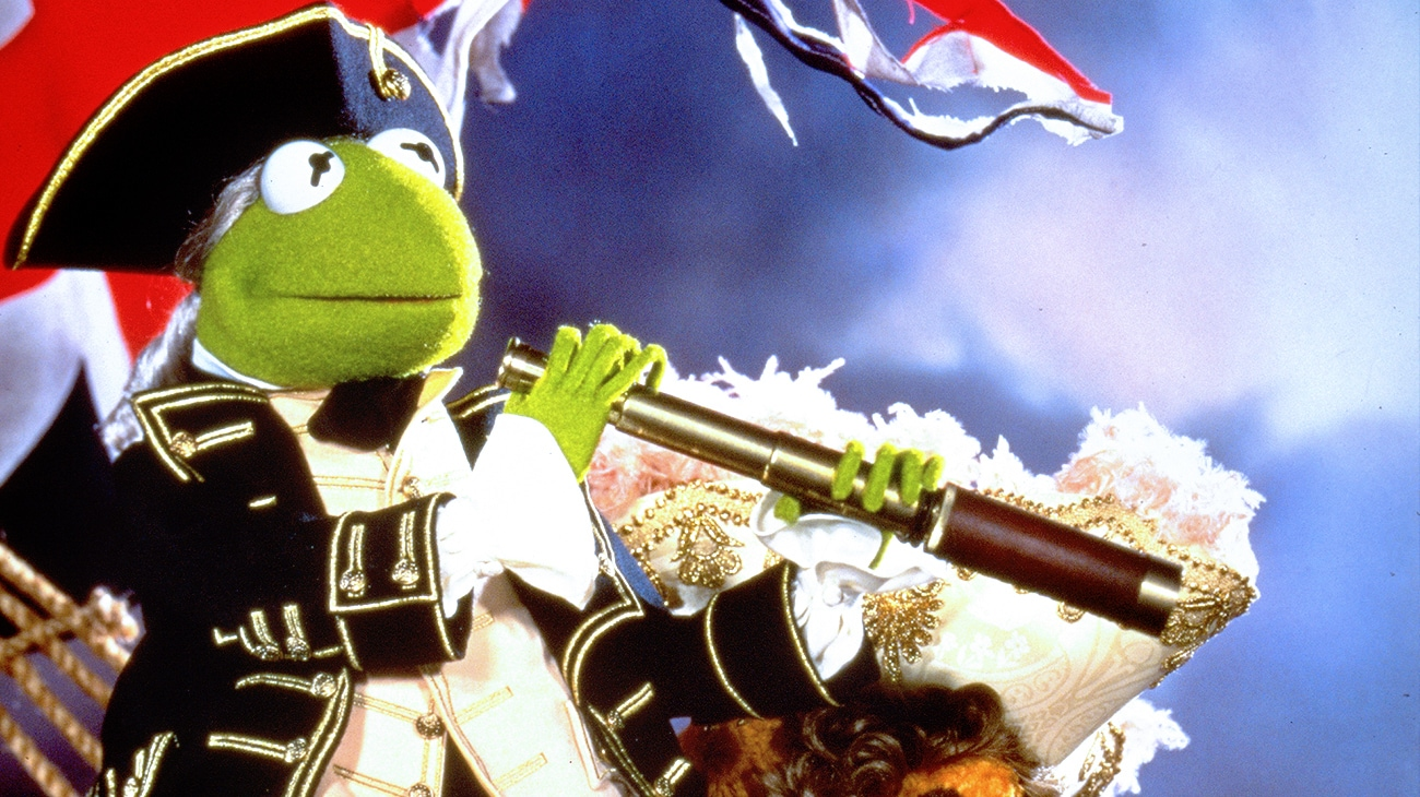 "Kermit the Frog in ""Muppet Treasure Island"""