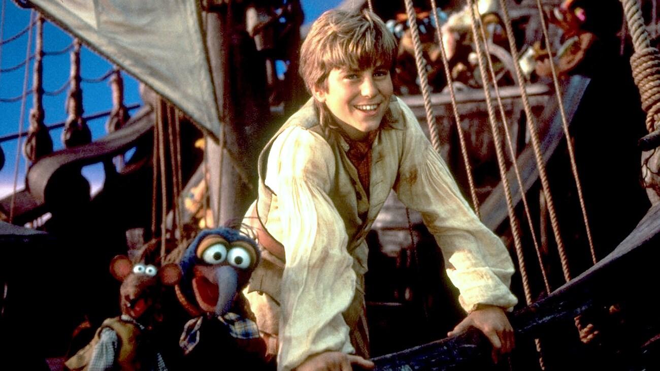 "Kevin Bishop in ""Muppet Treasure Island"""