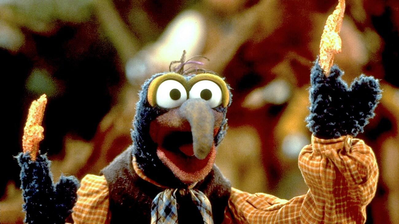 "Gonzo in ""Muppet Treasure Island"""