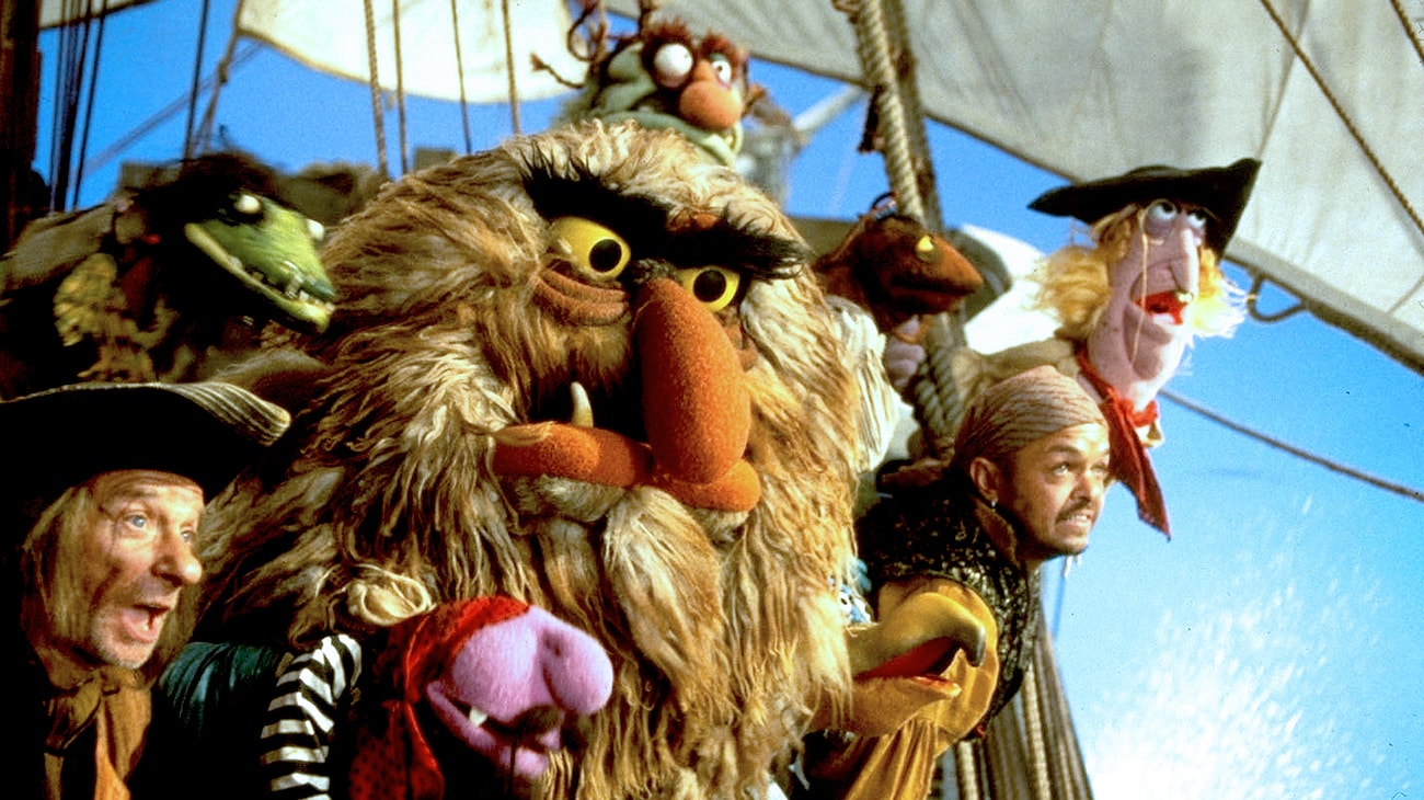 "Pirate crew in ""Muppet Treasure Island"""