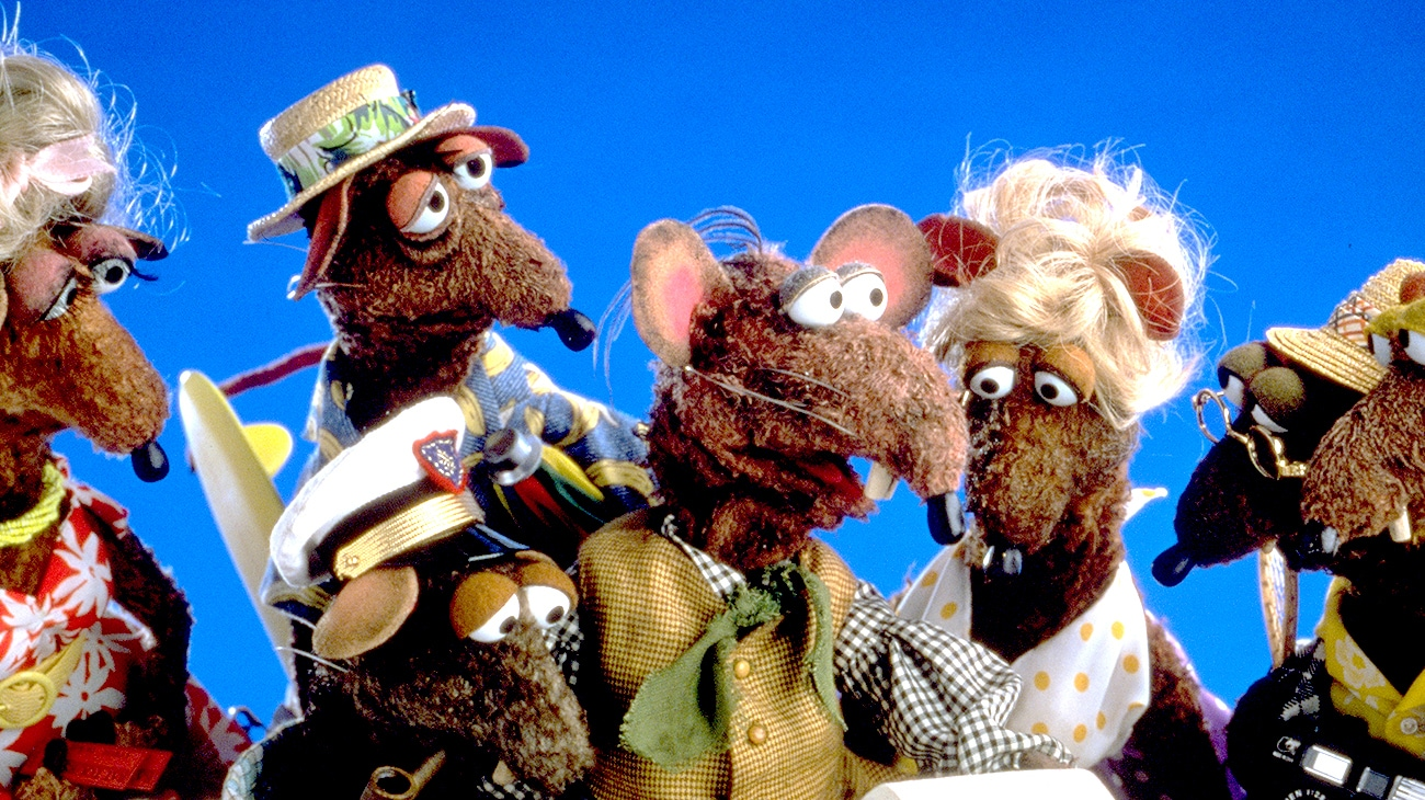 """Muppets in the movie """"Muppet Treasure Island"""""""