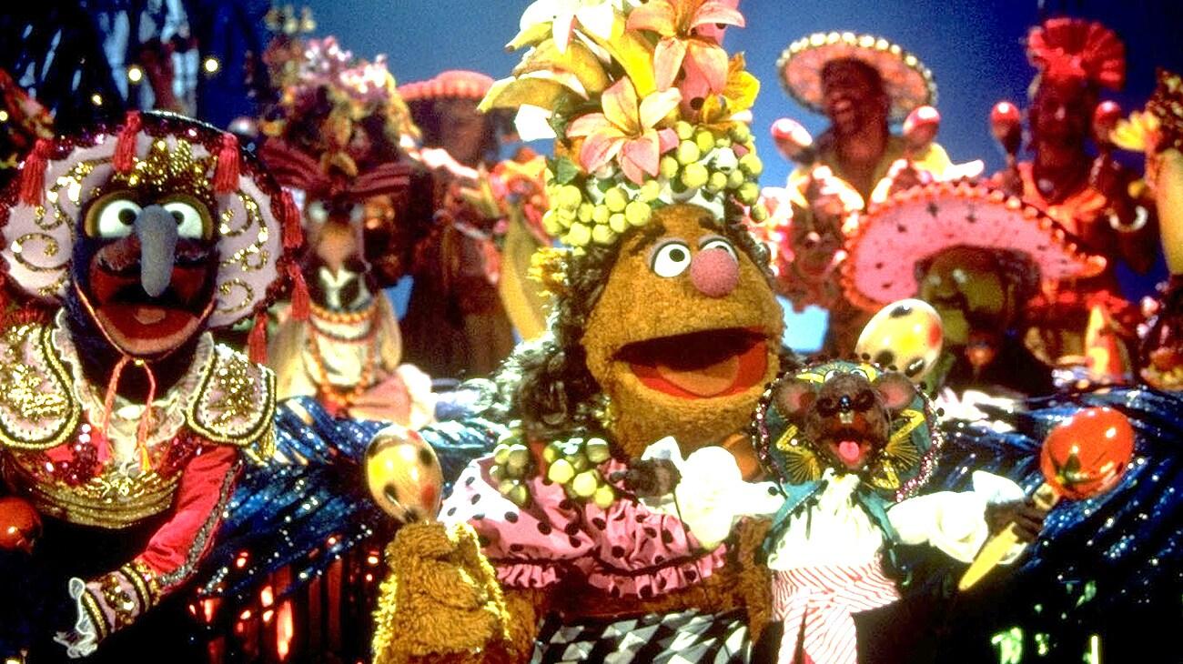 """Fozzie Bear in """"Muppet Treasure Island"""""""