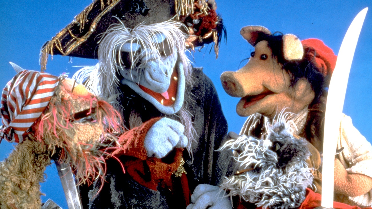 "Pirate muppets in ""Muppet Treasure Island"""