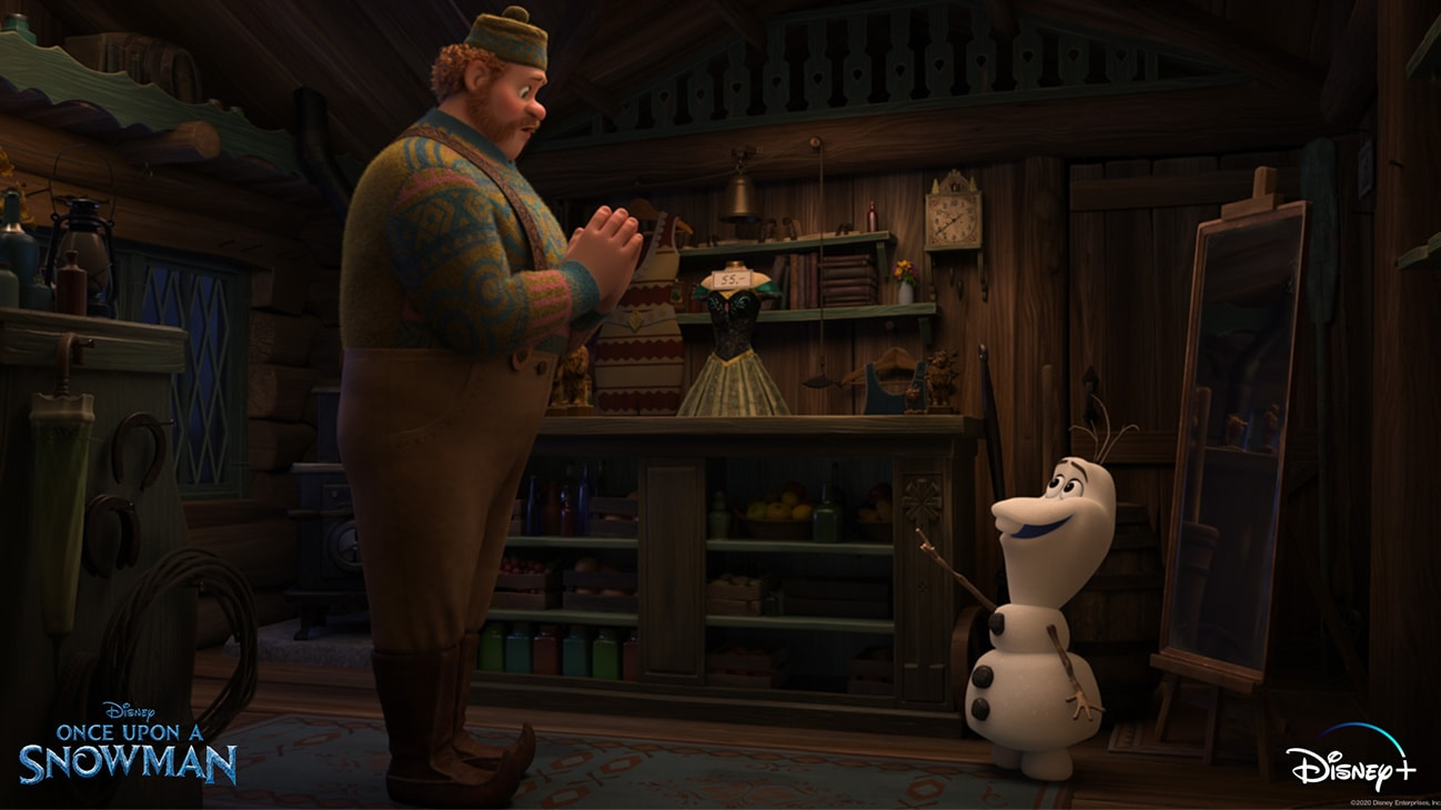 Olaf *nose* his story, but do you? Discover his origins in Once Upon a Snowman, an Original Short, now streaming on Disney+.
