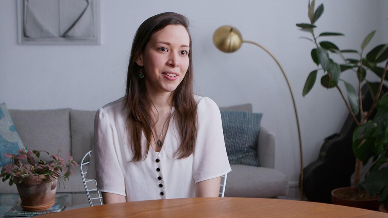 New York, NY - Daniela Blanco, co-founder of Sunthetics. (Credit: Future of Work Film Inc)