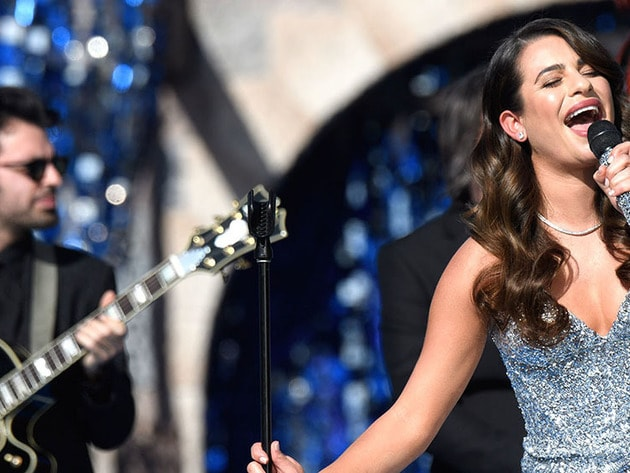 Special guest performer Lea Michele