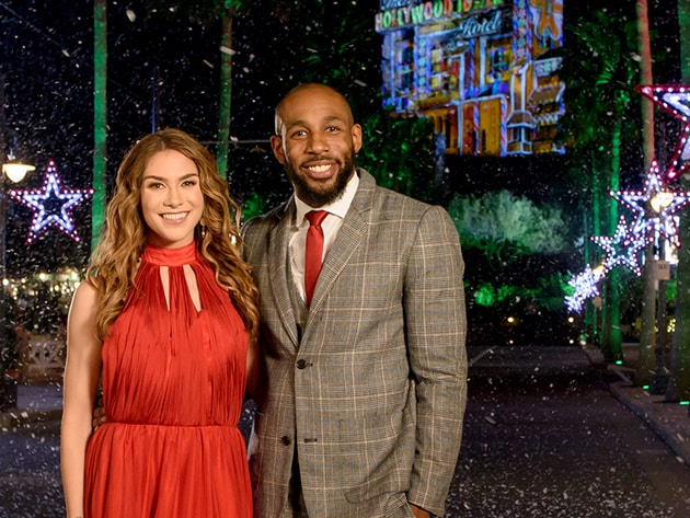 "Hosts Stephen ""tWitch"" Boss and Allison Holker"