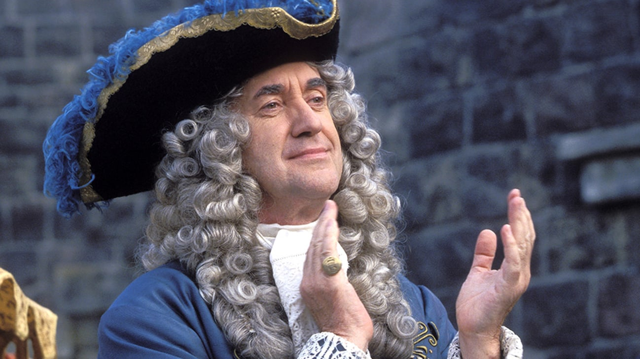 Governor Weatherby Swann (Jonathan Pryce) in the Disney movie Pirates of the Caribbean: The Curse of the Black Pearl.