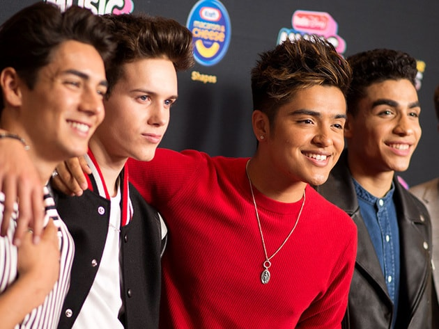 One of our favorite boybands In Real Life walking the RDMA Red Carpet