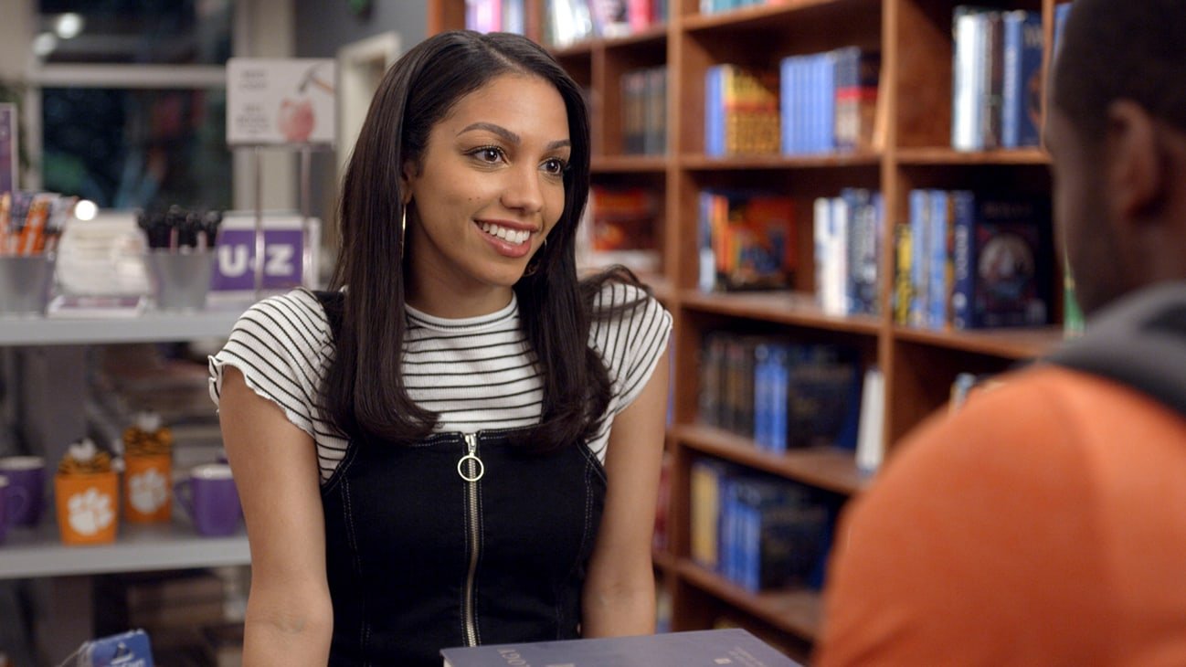 Corinne Foxx as Kaycee in SAFETY, exclusively on Disney+.