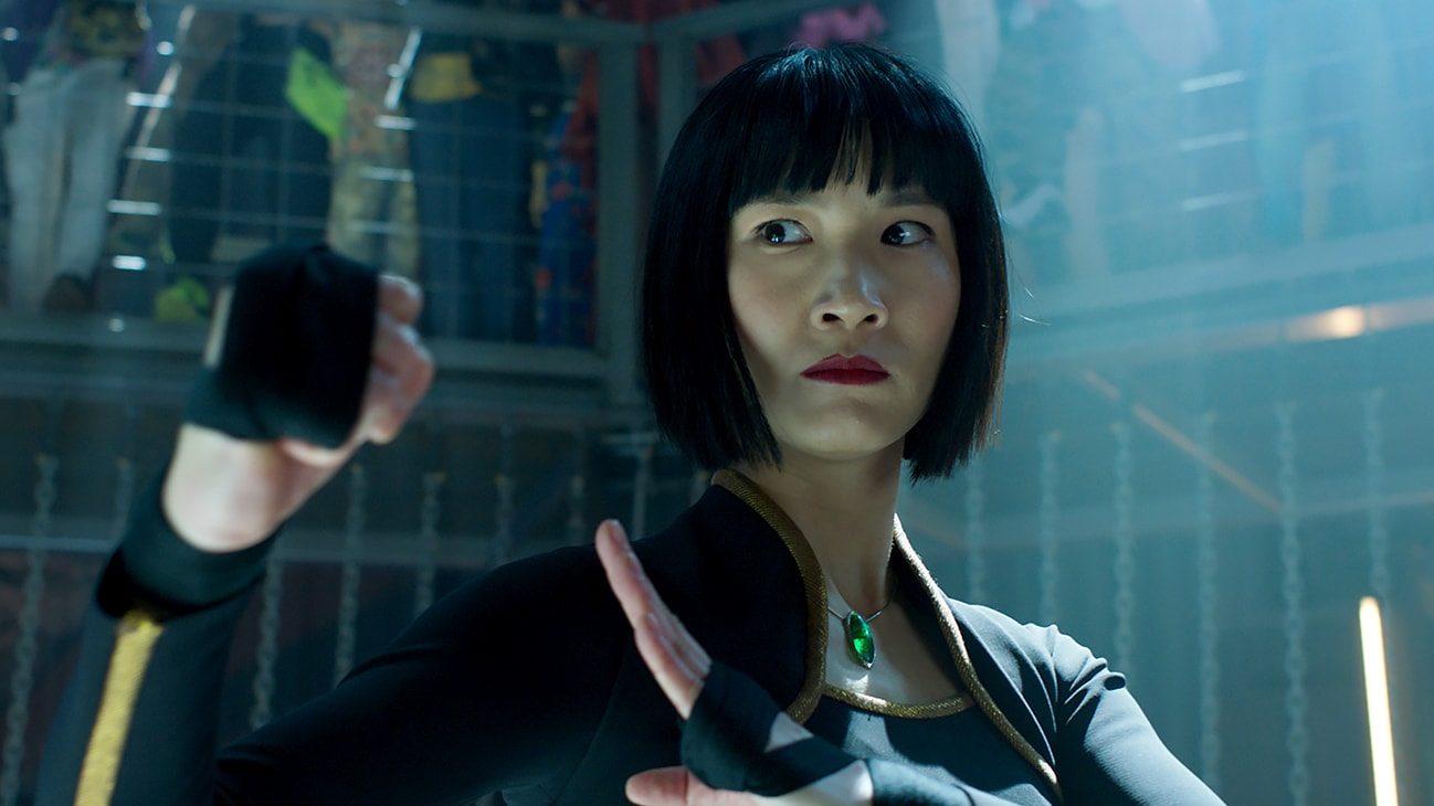 Xialing (Meng'er Zhang) from Marvel Studios' Shang-Chi and The Legend of the Ten Rings.
