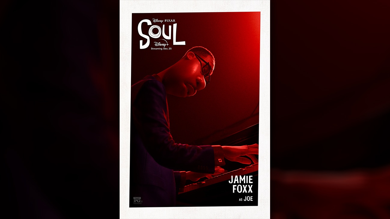 Disney • Pixar Soul | Jamie Foxx as Joe