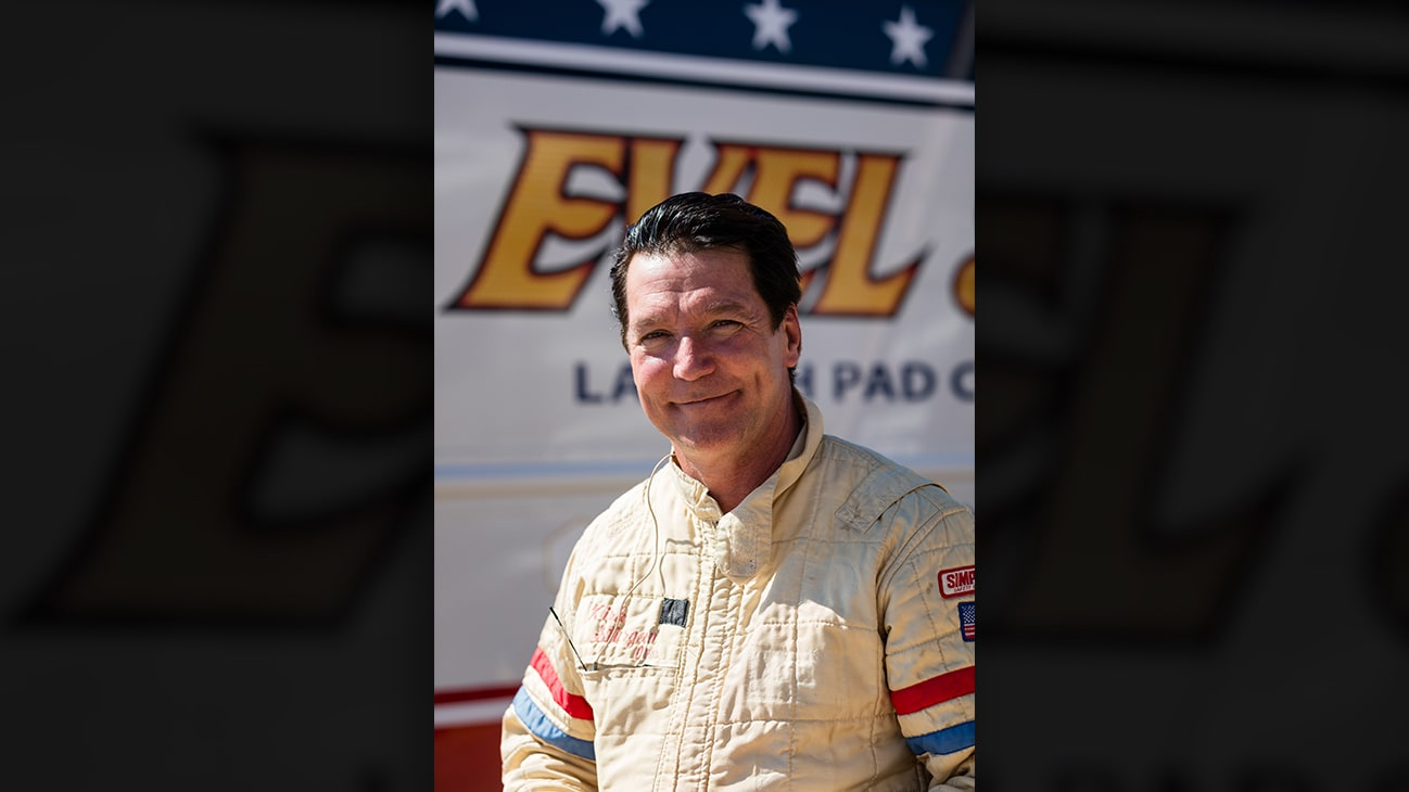 Picture of Eddie Braun from the Disney+ Originals movie Stuntman. (Disney) (Disney/ Steve Dondero)
