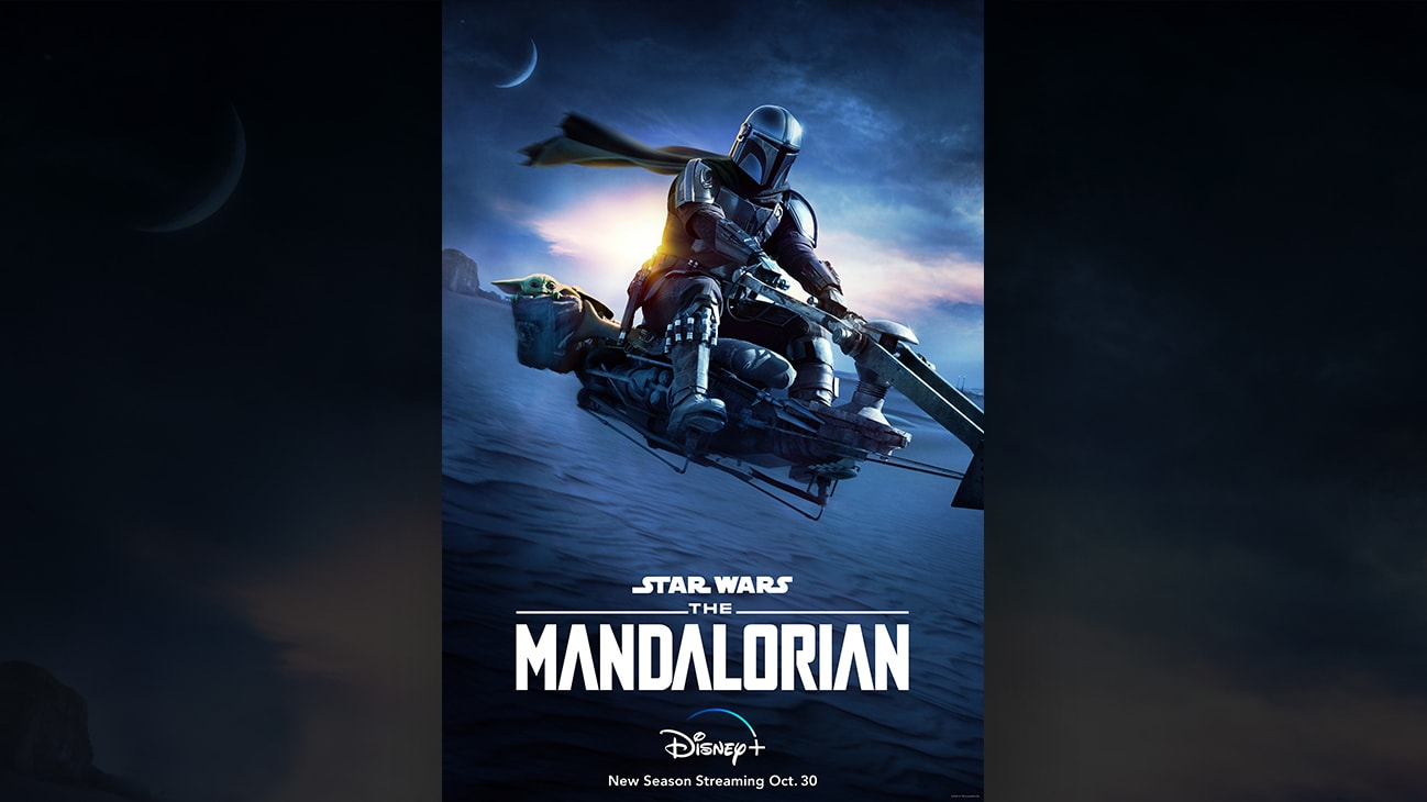 Start streaming the new season of THE MANDALORIAN Oct. 30 on Disney+.