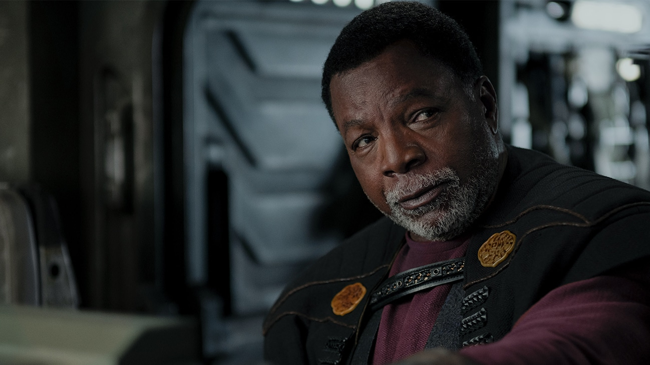 Carl Weathers is Greef Karga in THE MANDALORIAN, season two, exclusively on Disney+