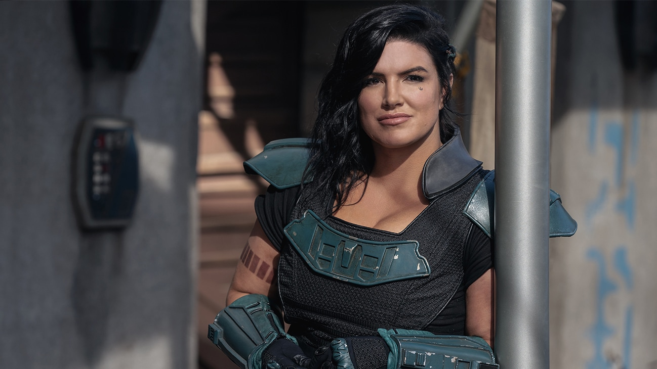 Gina Carano is Cara Dune in THE MANDALORIAN, season two, exclusively on Disney+.