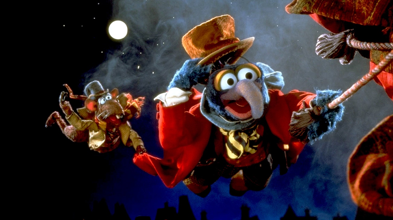 The Great Gonzo (voice of Dave Goelz) and Rizzo The Rat (voice of Steve Whitmire) in the Disney movie The Muppet Christmas Carol.
