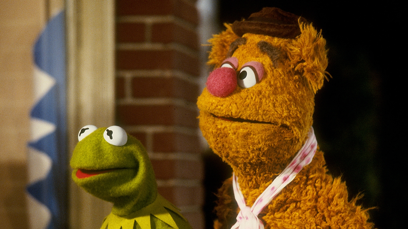 Kermit the Frog and Fozzie Bear