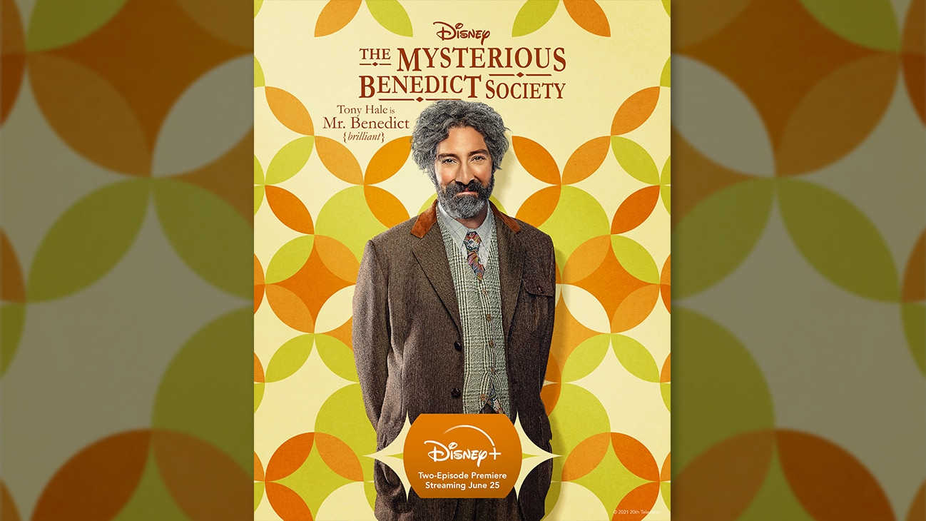 Tony Hale is Mr. Benedict {brilliant}