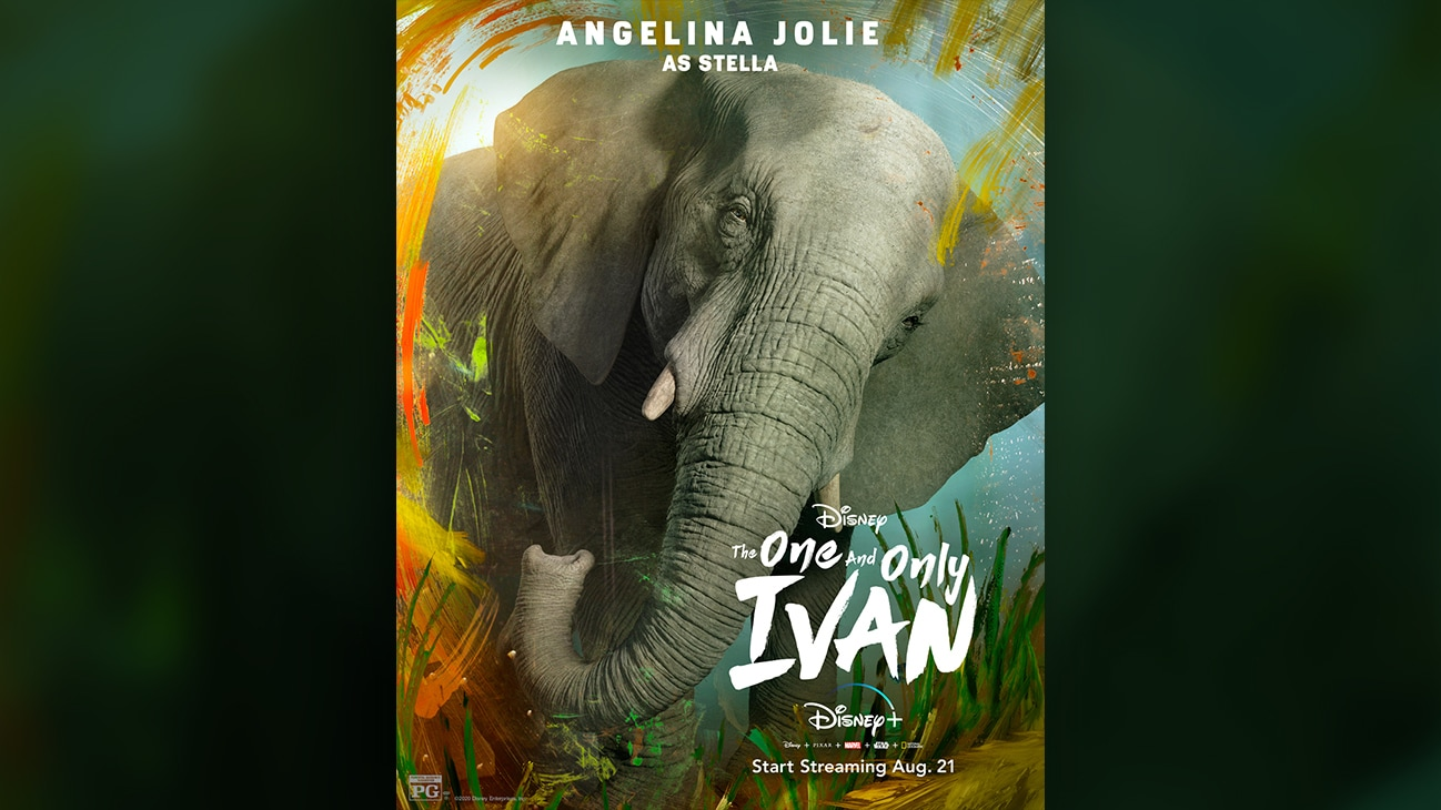 The One and Only Ivan | Angelina Jolie as Stella