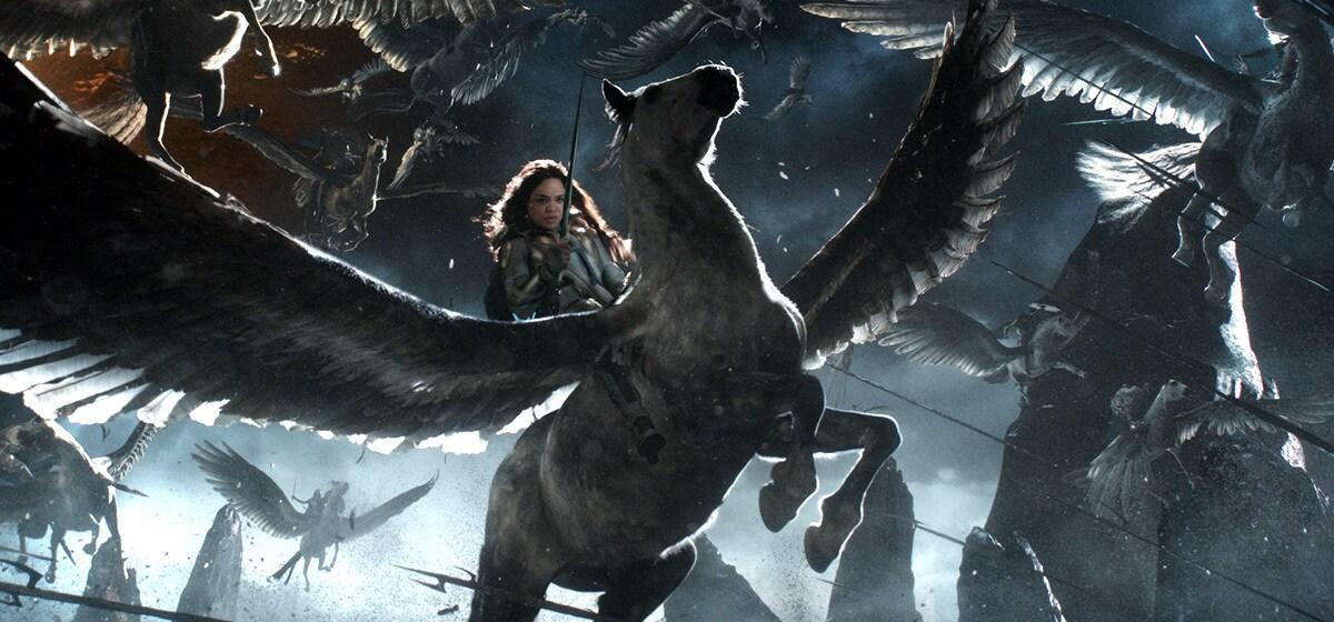 """Tessa Thompson (Valkyrie) from the movie """"Thor: Ragnarok"""""""
