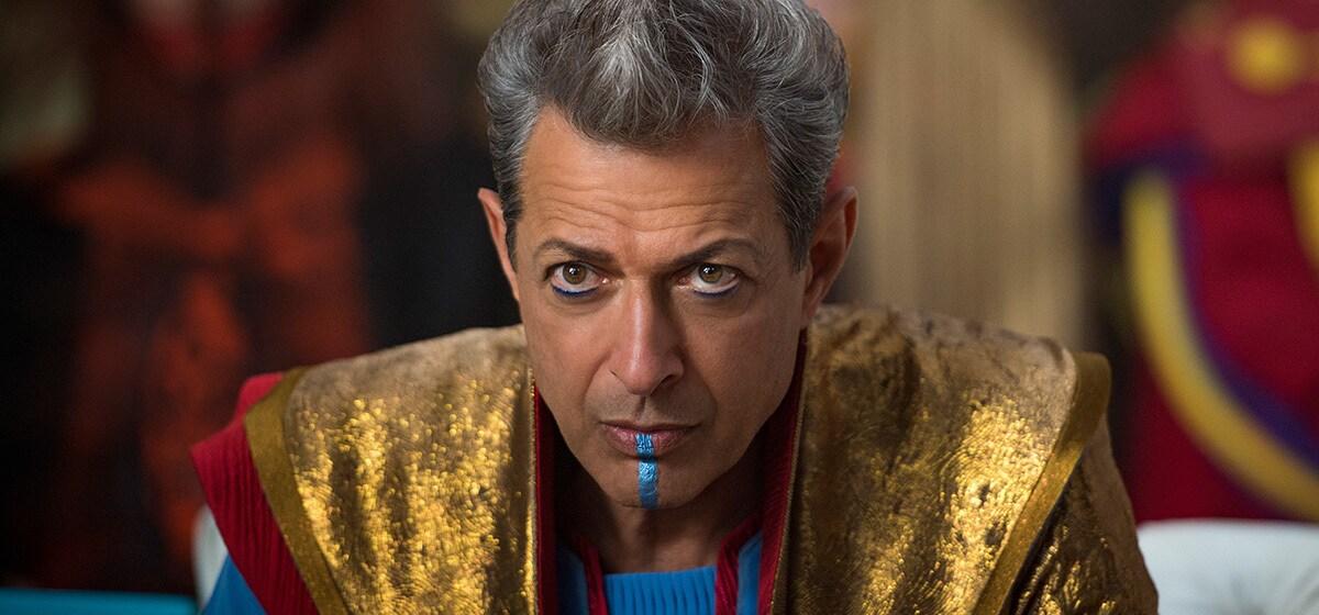 "Jeff Goldblum (Grandmaster) from the movie ""Thor:Ragnarok"""
