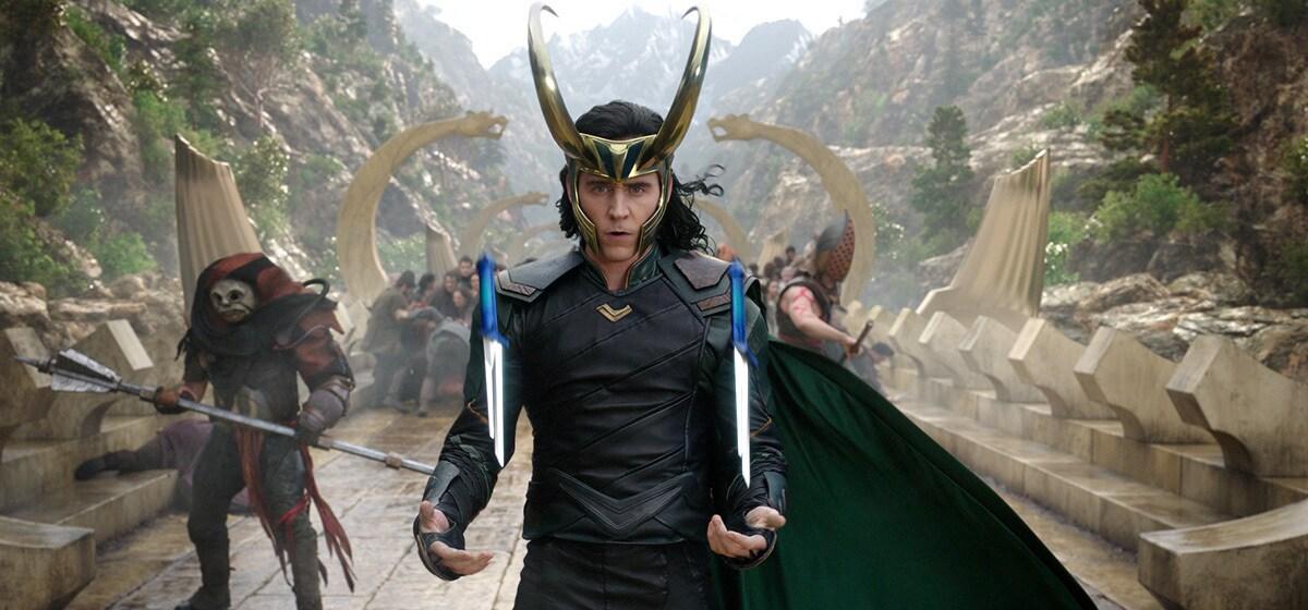 """Tom Hiddleston (Loki) from the movie """"Thor: Ragnarok"""""""