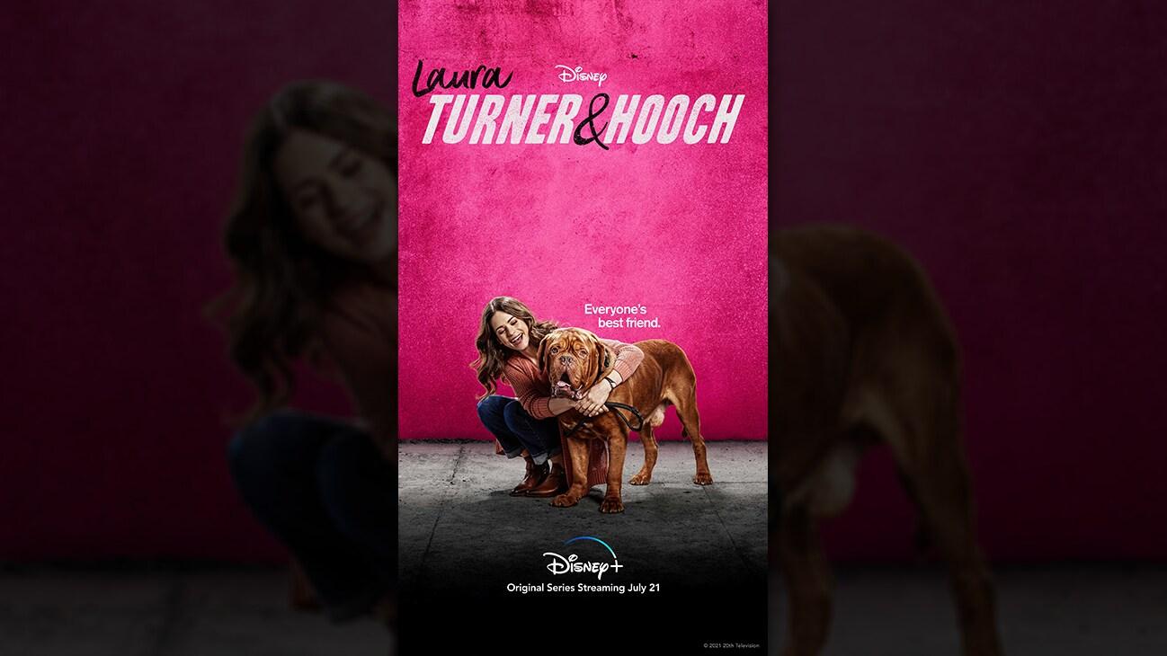 Laura Turner from the Disney+ Original series Turner & Hooch. | Disney+ | Original series streaming July 21.