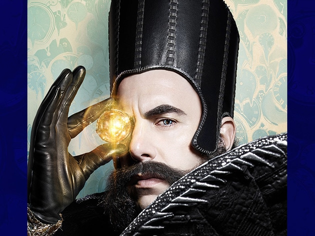 Sacha Baron Cohen joins the cast as Time, a magical being who sits on a black throne in a castle ...