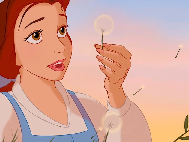Belle wishes for adventure in the big, wide world.