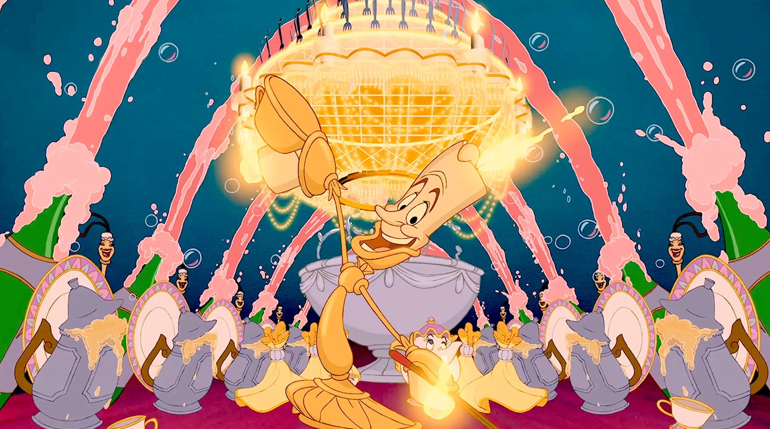 Lumiere pulls out all the stops in welcoming Belle.