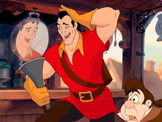 This duo is more of a trio if you count Gaston's huge ego!