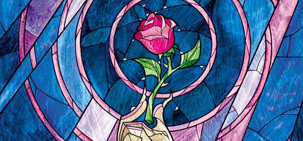 The rose from the Disney movie Beauty and the Beast (1991).