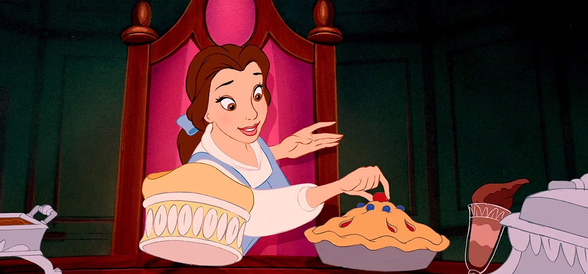 Paige O'Hara as Belle in the Disney movie Beauty and the Beast (1991).