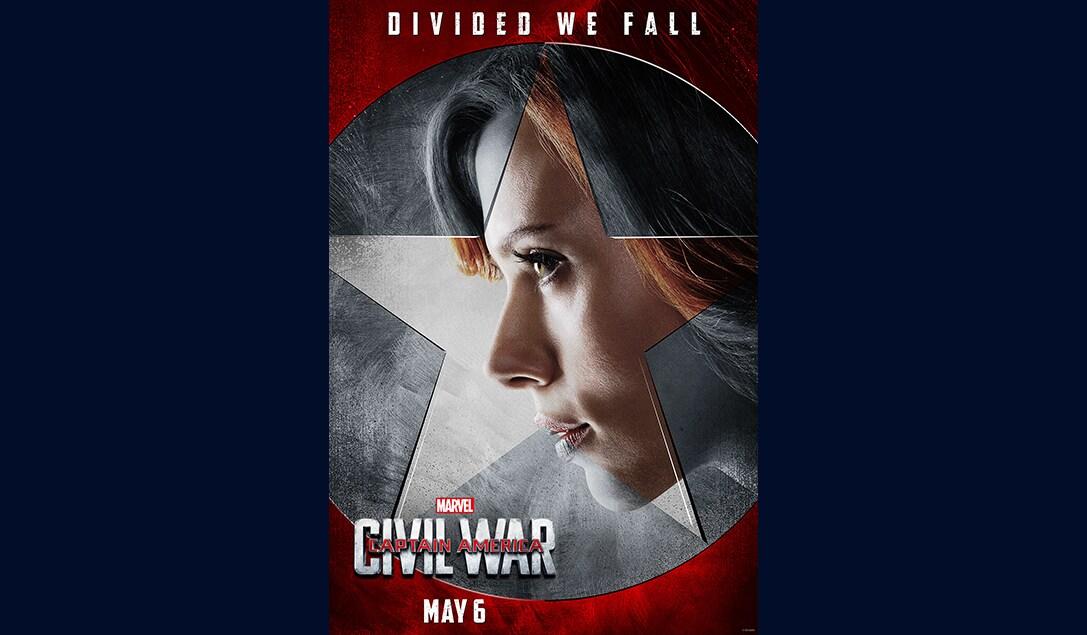 Scarlett Johansson (Natasha Romanoff/Black Widow) in Marvel's Captain America Civil War
