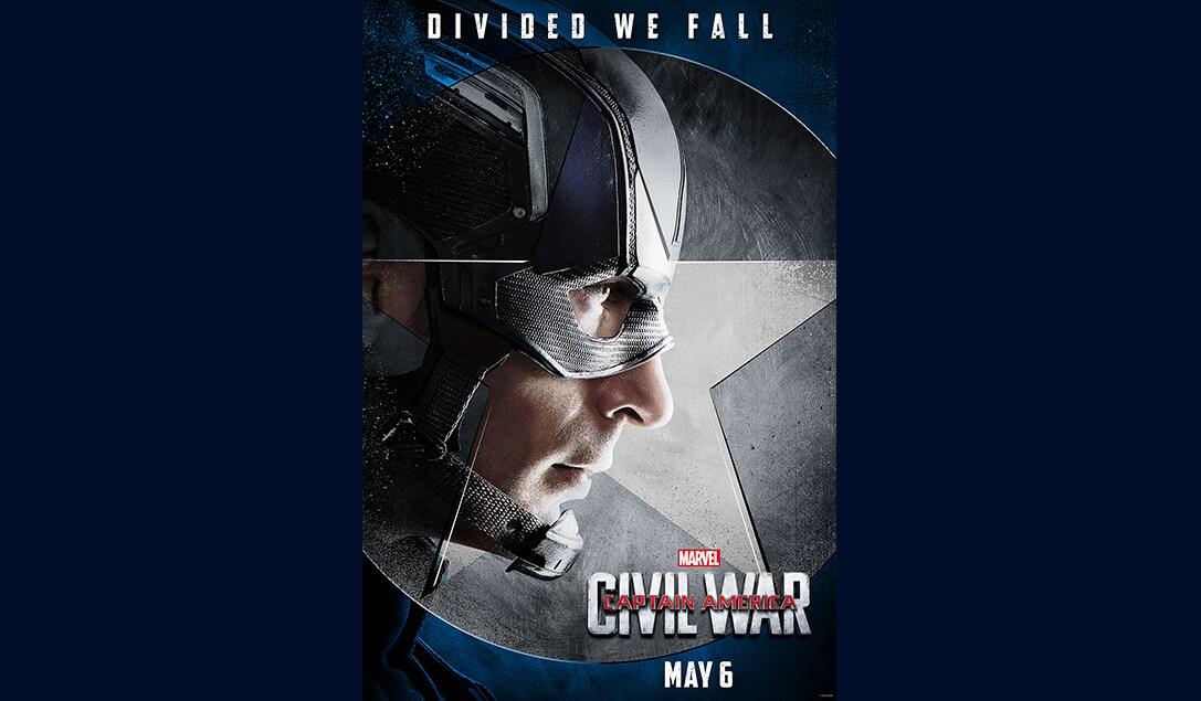 Chris Evans (Steve Rogers/Captain America) in Marvel's Captain America Civil War